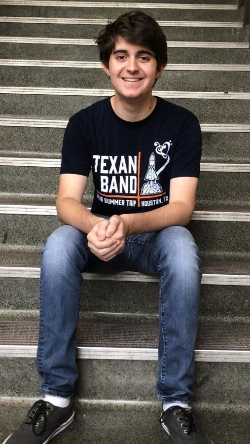 Ian Mintz, Co-Editor-in-Chief of the Texan Times