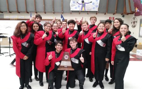 Ray Marching  Band Earns Top Honor at UIL Competition