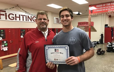 Brad Breckenridge named 1440 KEYS Student Athlete of the Week